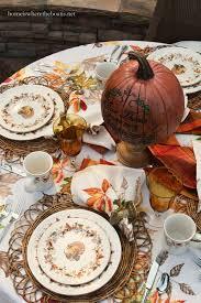 scattered leaves turkeys and pfaltzgraff autumn berry dinnerware