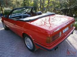 old maserati biturbo maserati biturbo spyder 1989 convertible 4 sp auto 2 8l twin turbo