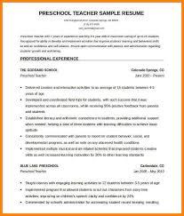 Resume Sample For Fresher Teacher by 8 Cv Format For Fresher Teachers Resume Language