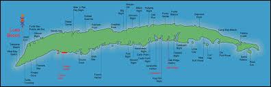 map of roatan honduras island map resort best scuba diving on roatan
