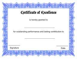 44 best blank certificate templates images on pinterest award