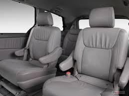 Toyota Sienna Captains Chairs 2009 Toyota Sienna Interior U S News U0026 World Report