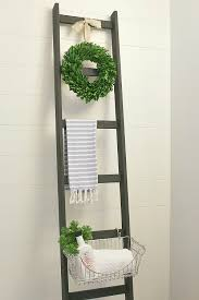 Diy Folding Chair Storage Diy Storage Ladder Clean And Scentsible
