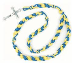 rosary twine ladder knot cord rosaries an advanced knotted cord rosary using