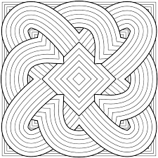 Geometric Design Coloring Pages 14 Printable Print Color Craft Color Ins
