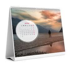chevalet de bureau personnalisé impression de 10 calendriers chevalet 16 x 15 cm