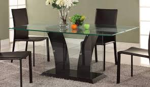 glass top kitchen table and chairs round glass kitchen tables and
