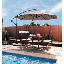 Patio Umbrella Cantilever Coolaroo 12 Cantilever Patio Umbrella House Pinterest