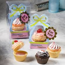 lip balm favors cupcake lip balm favors