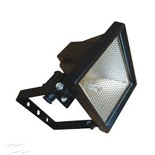 outdoor halogen light fixtures ehs 120w halogen floodlight in black ip44 rated black wall with