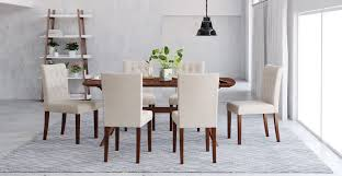 dining room table and chair set elizabeth dining table and 6x espen dining chairs set