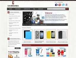 ebay template design ebay store design for cracktronics cellular accessories