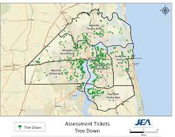 Map Service Center Storm Updates Storm Safety Outage Center Jea