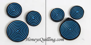 quilling earrings set how to make spiral circle paper quilled earrings and pendant