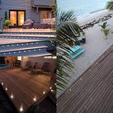 online shop qaca led deck light outdoor garden patio stairs