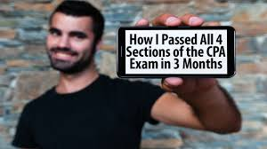 how i passed all 4 sections of the cpa exam in 3 months youtube