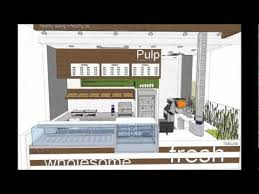 Juice Bar Layout Design