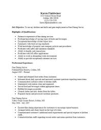 Types Of Skills Resume Server Resume Sample Skills Unforgettable Server Resume Examples