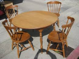 round rustic kitchen table shelby knox