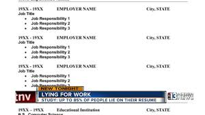 Job Title On Resume by Lie On Resume Background Check Corpedo Com