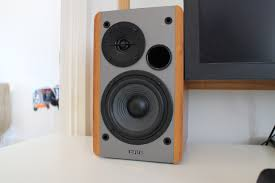 minimalist computer speakers edifier r1280t bookshelf speaker review man of many
