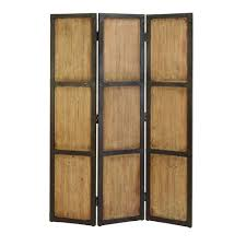 Room Dividers At Home Depot - home decorators collection 5 92 ft natural 3 panel room divider