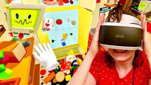 cuisine virtuelle panique en cuisine simulator en réalité virtuelle ps vr 3