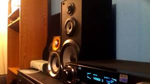Sony Bookshelf Speakers Ss B3000 Excursion Tests With Sony Ssb 3000 Youtube