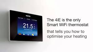warmup 4ie smart wifi thermostat youtube