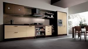 marron cuisine stunning cuisine moderne marron vue cour arri re est comme exemple