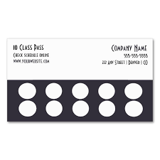 Online Business Card Maker Free Printable Business Punch Card Template Free Danielpinchbeck Net