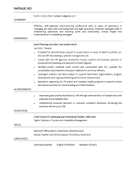 Admissions Coordinator Resume Sample Event Planner Resume Free Resume Example And Writing Download