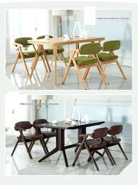 dining chairs houzz dining chairs household wood chair villa garden stool blue green