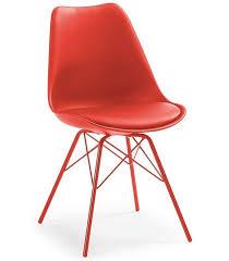 siege plastique lars pattes cuisine chaise siège en plastique métal centrolandia