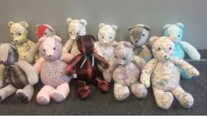remembrance teddy bears teddy bears sewn with by vitas healthcare volunteers gifted