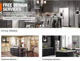 innovative fresh home depot kitchen design virtual kitchen