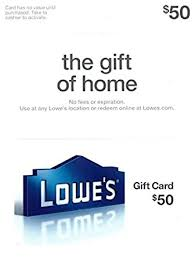 lowe s bridal registry lowe s 50 gift card gift cards