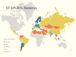 Map Of Europe Test by Ef English Proficiency Index Wikipedia
