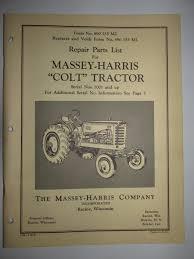 buy massey harris 20 u0026 20k tractor s n 1001 u0026 up parts catalog