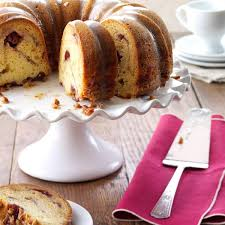 cranberry bundt cake recipe taste of home