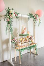 bohemian baby shower dessert display for the baby to be beautiful details for your