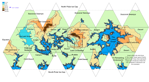 World Map Of Deserts The Collapsed World Map V2 Updated Enderra Worldbuilding