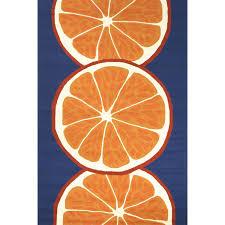 Outdoor Blue Rug by Jaipur Rugs Grant Citrus 2 X 3 Indoor Outdoor Rug Orange Blue