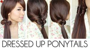 easy hairstyles for long hair at dfemale beauty tips