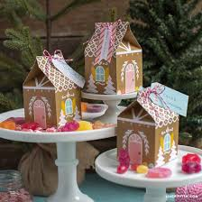 Paper Craft Home Decor Paper Gingerbread House Snack Box By Lia Griffith Project Home