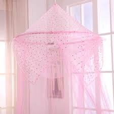 Sheer Bed Canopy Casablanca Raisinette Collapsible Hoop Sheer Bed Canopy Pink