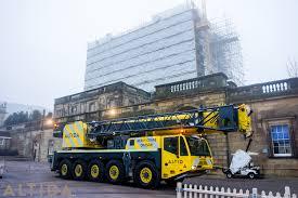 terex ac 140 tonne compact mobile crane in nottinghamshire