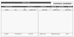Check Stub Template For Excel Free Basic Paystub Template Excel Paystub Templates