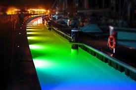 Aqua Dock Lights Mounted Led Pro Rgb Underwater Lighting
