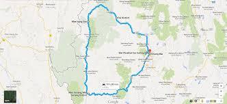 National Parks Road Trip Map Thailand Road Trip Chiang Mai Pai Mae Hong Son Mae Sariang